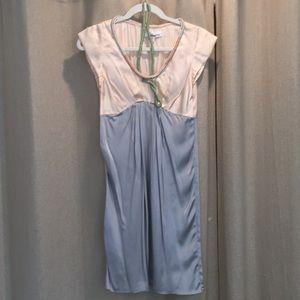 Dresses & Skirts - Interlud Silk Cap Sleeve Dress Size XS